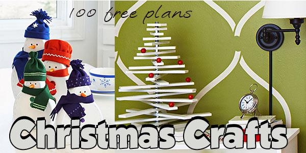 Wood Christmas Crafts at PlansPin.com