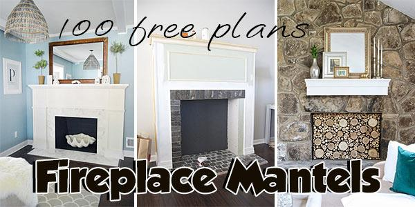 Fireplace Mantels at PlansPin.com