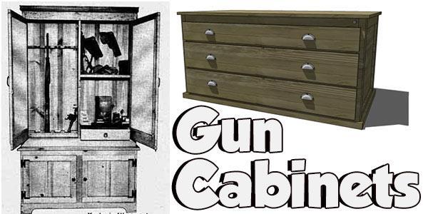 Gun Cabinets At PlansPin.com