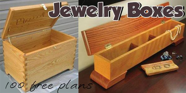 Jewelry Boxes at PlansPin.com