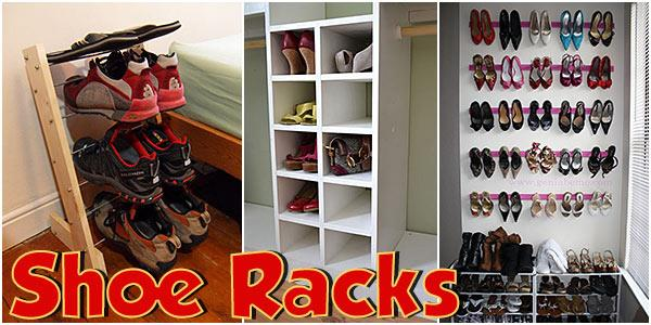 Shoe Racks at PlansPin.com