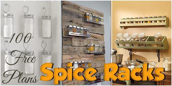 Spice Racks at PlansPin.com