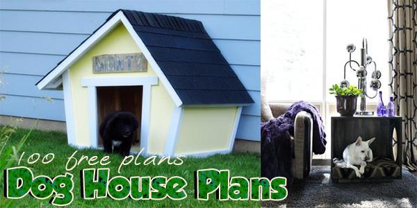 Dog House Plans at PlansPin.com