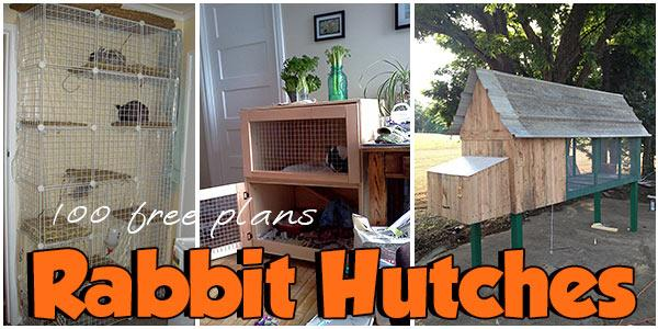 65 Free Rabbit Hutch Plans - PlansPin.com