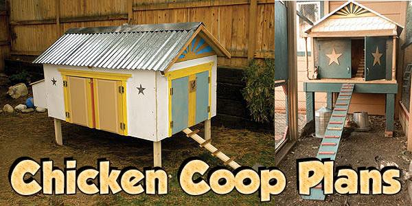 Chicken Coop Plans at PlansPin.com