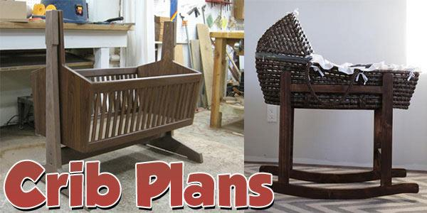 Crib Plans at PlansPin.com