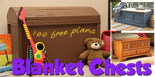 Blanket Chests at PlansPin.com