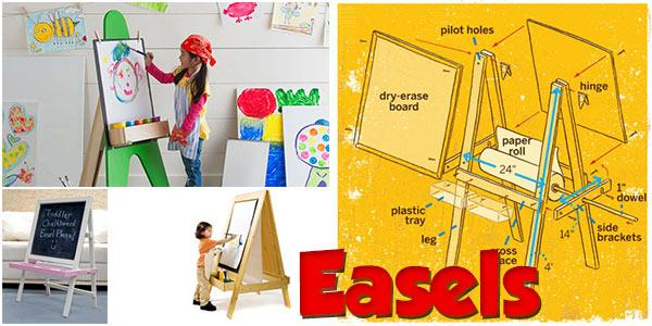 Easels Plans at PlansPin.com