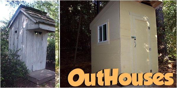 Outhouses at PlansPin.com