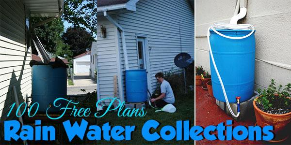Over 60 rain water collection systems to build for Build your own rain collection system