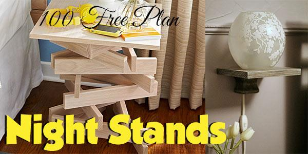 Night stands at PlansPin.com